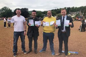 Kilsyth campaigners succeed in their quest