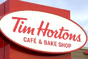 Tim Hortons announces Cumbernauld opening date