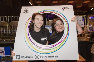 Members of North Lanarkshire Youth Council hosted the Duke of Edinburgh Award ceremony