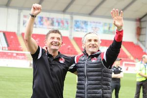 Clyde want to capitalise on the success of Danny Lennon and Allan Moore (pic: Craig Black Photography)