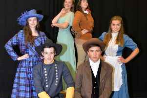 Deesiders take lead roles in college's wild west musical