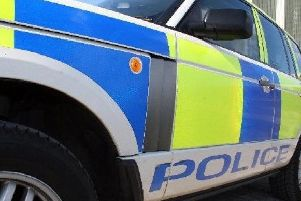 The Loan in Loanhead was closed after a crash