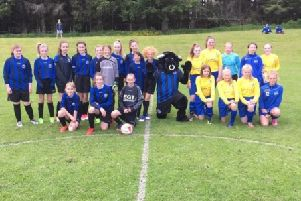 Another year kicks off for Donside U13 girls