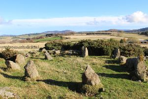 The stone circle discovered at Leochel-Cushnie