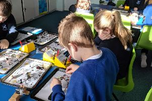 Pupils get to grips with circuit boards