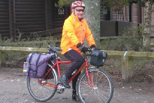 David Culshaw hopes to cover more than 600 miles to fundraise for Banchory Paths Association