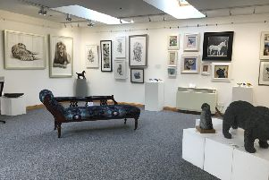 The Feathers & Fur exhibition at the Milton gallery runs until November 10