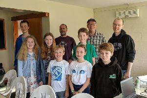 Finalists in Cromar Future Group's coding competition