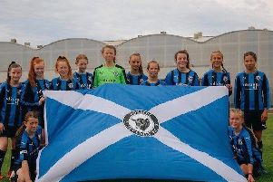 Donside Girls U13's heading to World Girls Football Cup