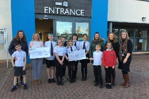 Hill of Banchory School and the charity CAMHS were the main beneficiaries
