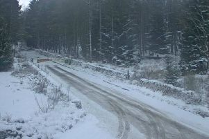 Snow and ice causes chaos on local roads