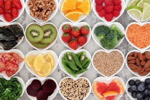 Eating healthy foods could help reduce your risk of cancer.