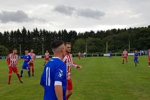 Hat-trick hero Munro on the spot for Saints to see off visitors Sunnybank