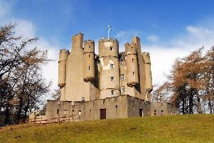 Braemar Castle is undergoing restoration