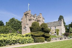 Crathes Castle visitor numbers were up by 5%