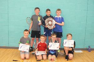Drumoak Primary School team, 2019 winners of the Drumoak Shield played for in memory of Brian Chalmers