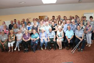 Former pupils of Crossroads School thoroughly enjoyed their reunion. Picture: Mike Gill