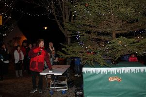 This year's Banchory festive lights switch-on will be on Friday, November 29. Picture: Mike Gill