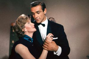 Sean Connery in From Russia With Love in 1963
