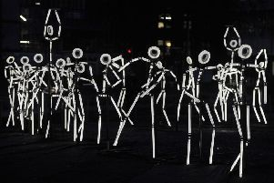 Video: Keyframe light sculptures brighten up Edinburgh