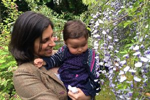 Nazanin Zaghari-Ratcliffe with her daughter Gabriella. Picture: contributed