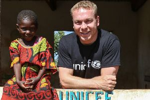 Sir Chris Hoy is calling for action in the Syrian crisis. Picture: Unicef