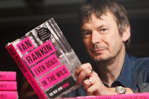 Ian Rankin. Picture: Toby Williams