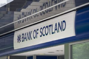 Bank of Scotland said there would be no compulsory job losses as a result of the closures. Picture: John Devlin