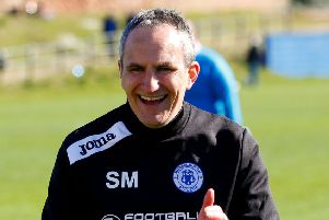 Stevie McLeish knows Bonnyrigg will be fired up. Pic: TSPL