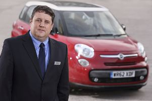 Peter Kay won the award for his show, Car Share. Picture; contributed