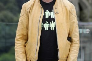 Author Irvine Welsh has been nominated for a literary award.