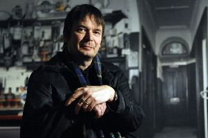 Ian Rankin says he can't 'bump off' Rebus. Picture: Jane Barlow