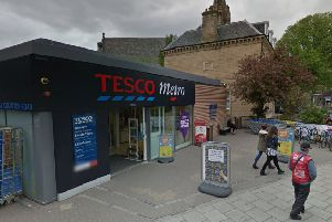 The Tesco Metro in the Bruntsfield area. Picture: Google Maps