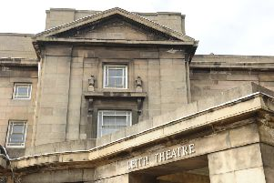 Leith Theatre has been mothballed for a number of years. Picture:  Colin Hattersley