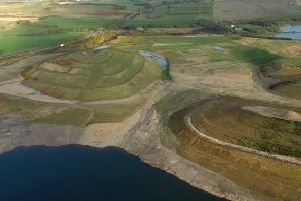 Site of old village of Lassodie and St Ninian's Colliery. PIC You Tube.
