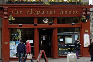 The Elephant House on George IV Bridge