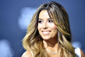 Eva Longoria Baston will attend the Global Gift Gala in Edinburgh on May 21. Picture: MICHAEL BUHOLZER/AFP/Getty Images