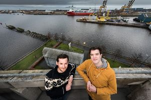 Patrick Fletcher and Ian Stirling are opening a distillery in Leith. Picture: Paul Brock