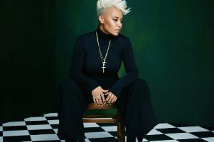 Emeli Sande will take to the stage at Edinburgh Castle on July 13.