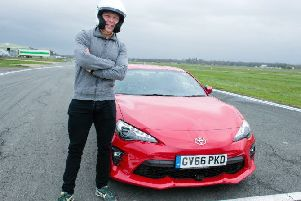 Chris Hoy takes on Top Gear 'reasonably fast' car challenge