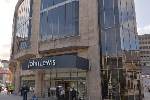 John Lewis is set tos pend �24m on its Edinburgh store. Picture: Neil Hanna