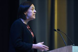 Kezia Dugdale has urged voters to send a message to both the SNP and Conservatives by voting Labour. Picture: Neil Hanna/JP License