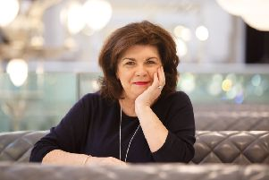Elaine C Smith helped raise laughs and a lot of money at the Leuchie House benefit. Picture: Robert Perry