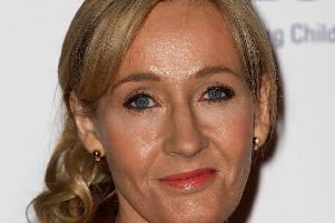 JK Rowling attends a charity evening hosted by JK Rowling to raise funds for 'Lumos' a charity.  (Photo by Danny E. Martindale/Getty Images)