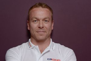 Sir  Chris Hoy. Picture: TSPL