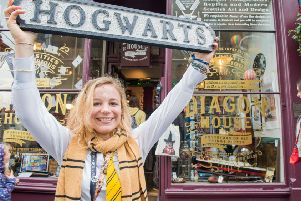 Shop assistant and Potter superfan Yleine Aerts is over the moon to be part of the new experience.