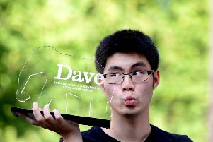 Ken Cheng has won the 10th annual award for Dave's Funniest Joke Of The Edinburgh Fringe. Picture: PA