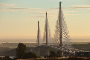 The Queensferry Crossing will open to traffic in the early hours of Wednesday morning. Picture: Contributed
