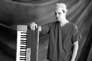 Medic turned comedian Adam Kay lifts the lid on life as a junior doctor in his new book This is Going to Hurt. Picture: Hugo Burnand