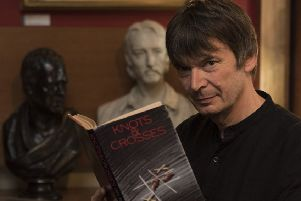Ian Rankin has hinted that his Rebus series could be coming to an end. Picture: Andrew O'Brien
